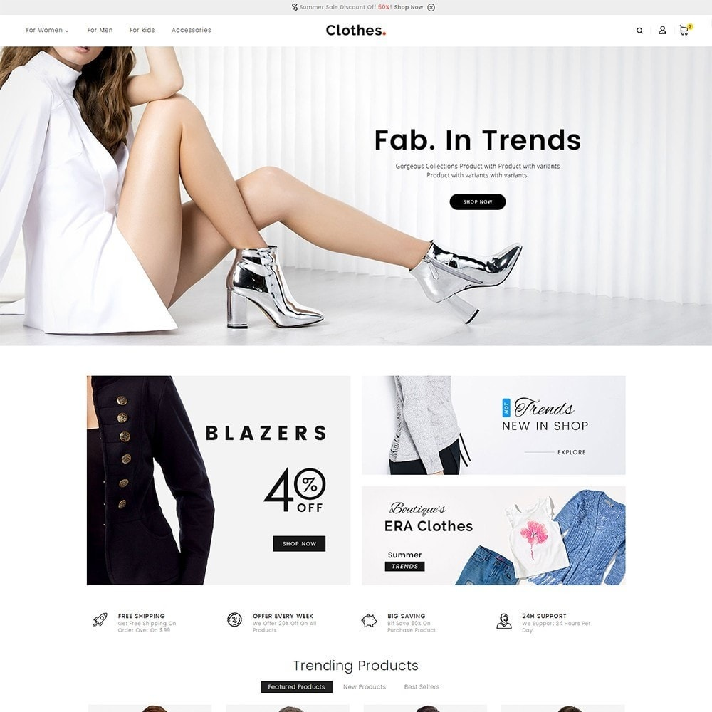 theme - Mode & Chaussures - Fashion Clothes - 2