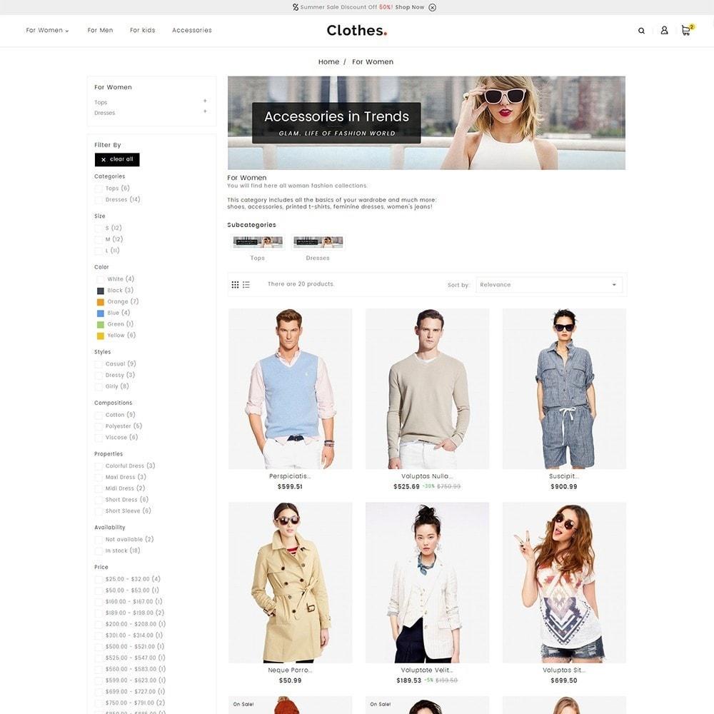 theme - Мода и обувь - Fashion Clothes - 4