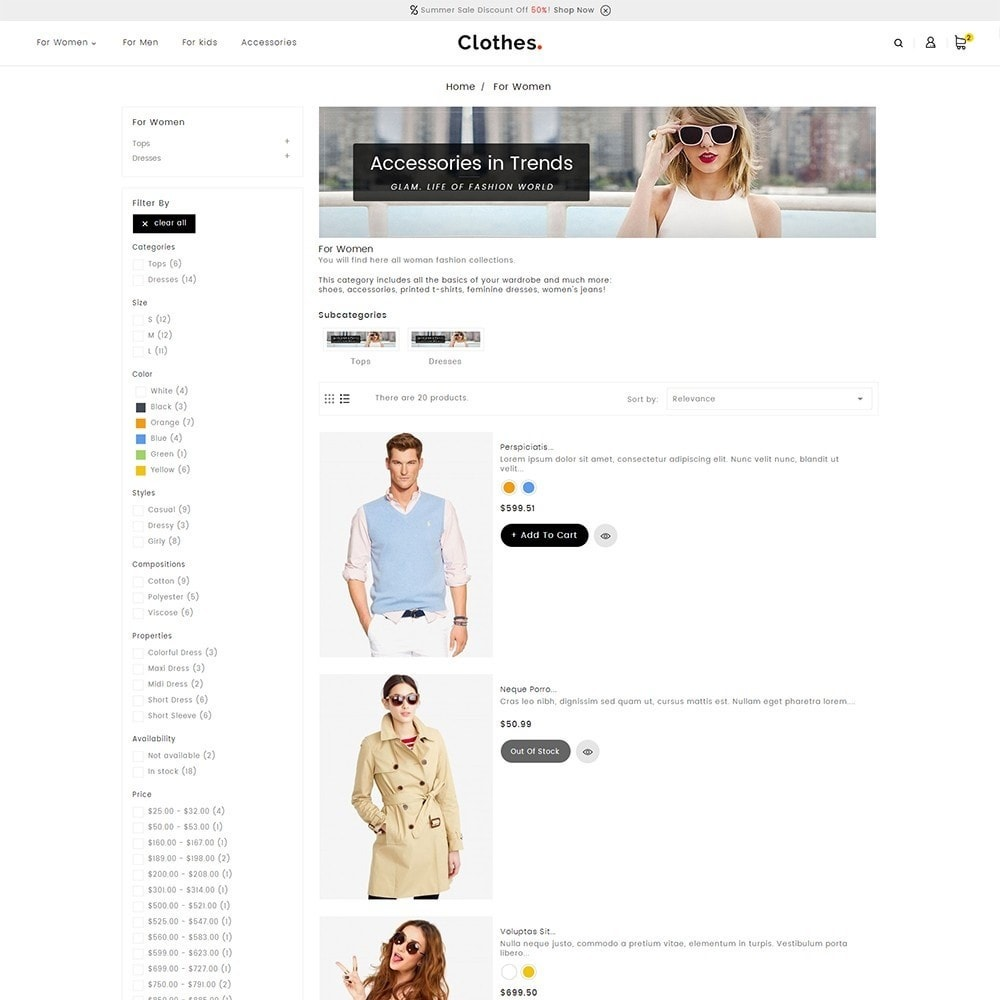 theme - Mode & Chaussures - Fashion Clothes - 5