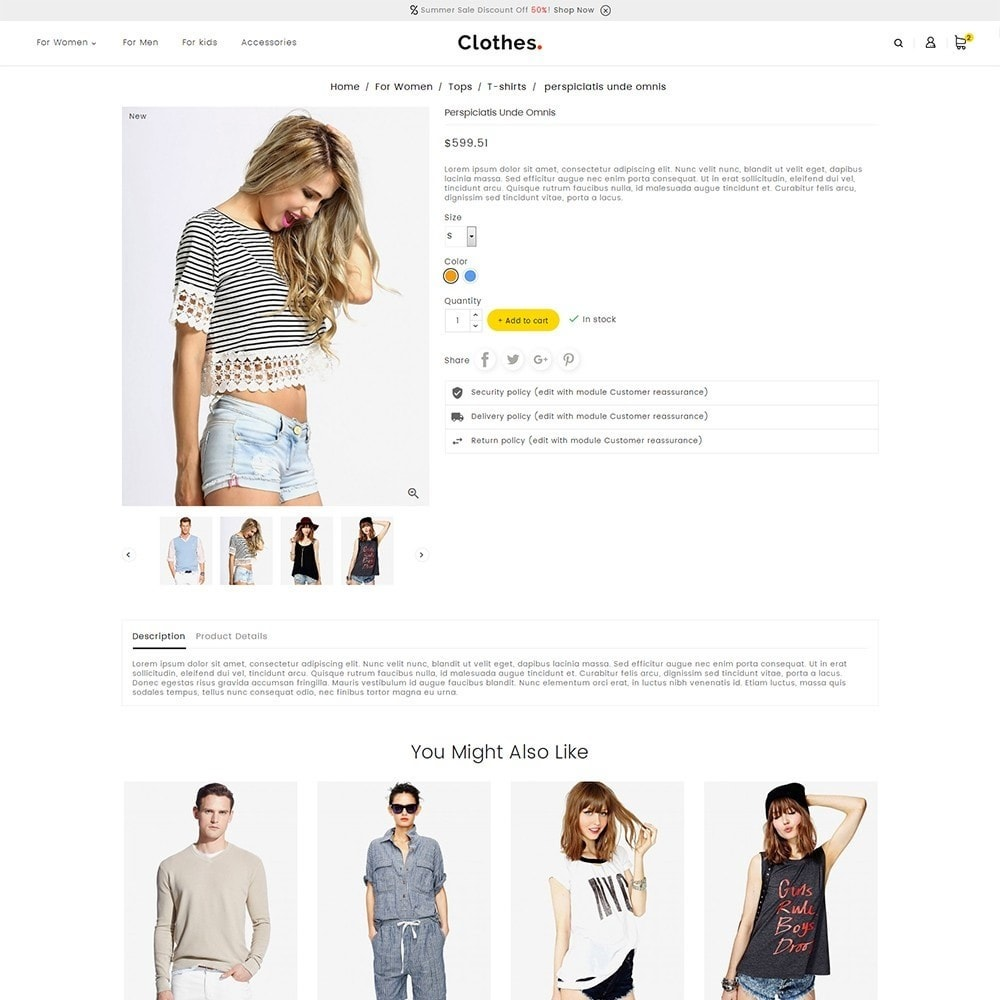 theme - Mode & Chaussures - Fashion Clothes - 6