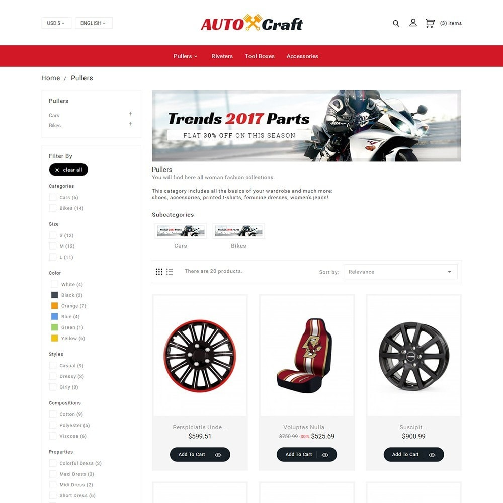 theme - Coches y Motos - Auto Crafts - 5