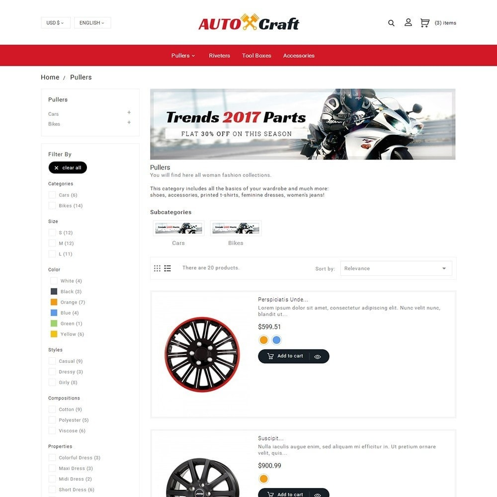 theme - Coches y Motos - Auto Crafts - 6