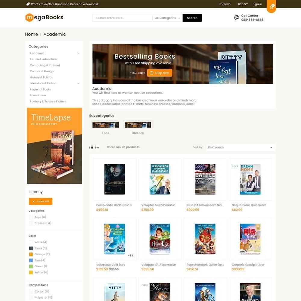 theme - Kids & Toys - Mega Books Store - 4