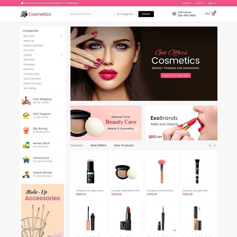 theme - Здоровье и красота - Mega Cosmetics - 2