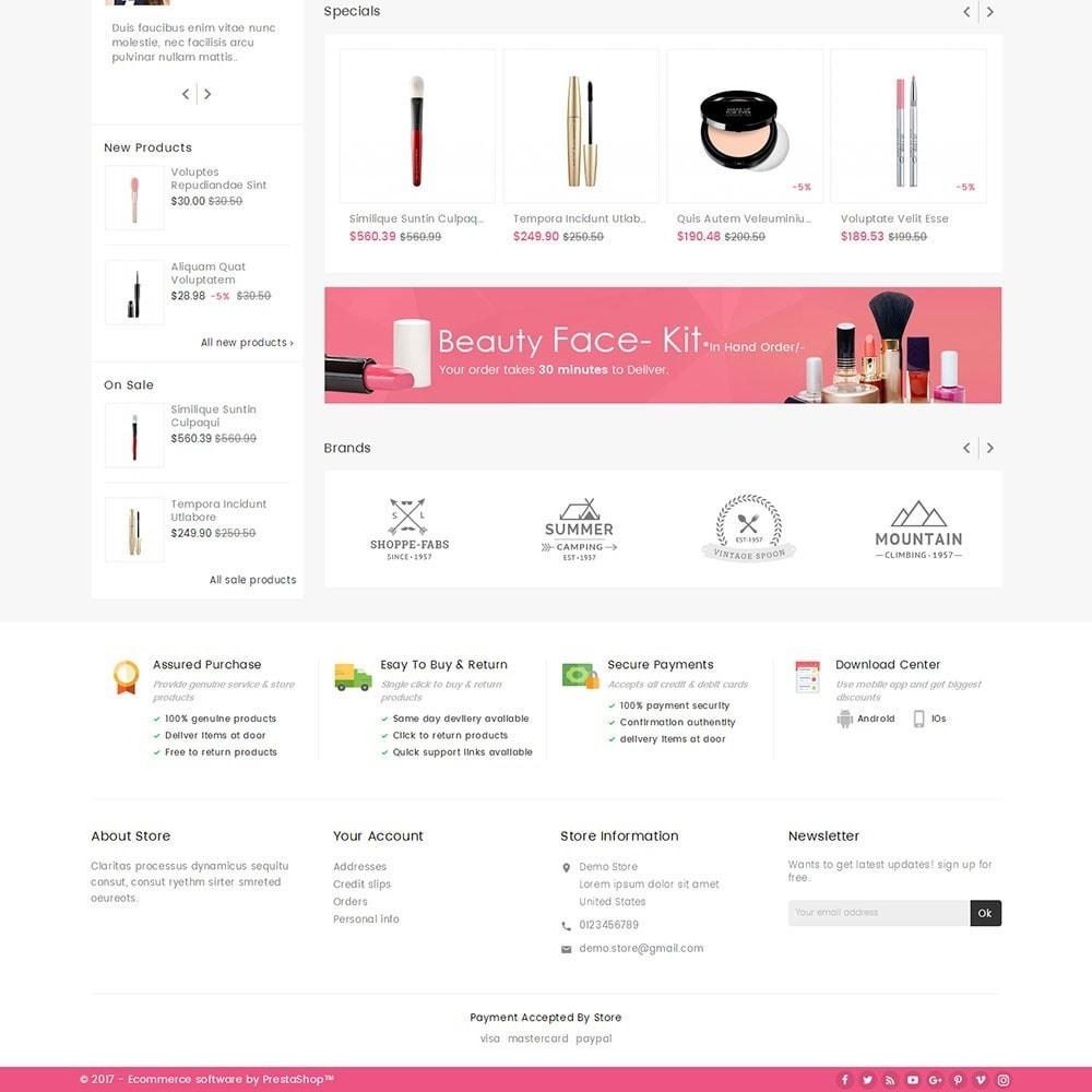 theme - Здоровье и красота - Mega Cosmetics - 4