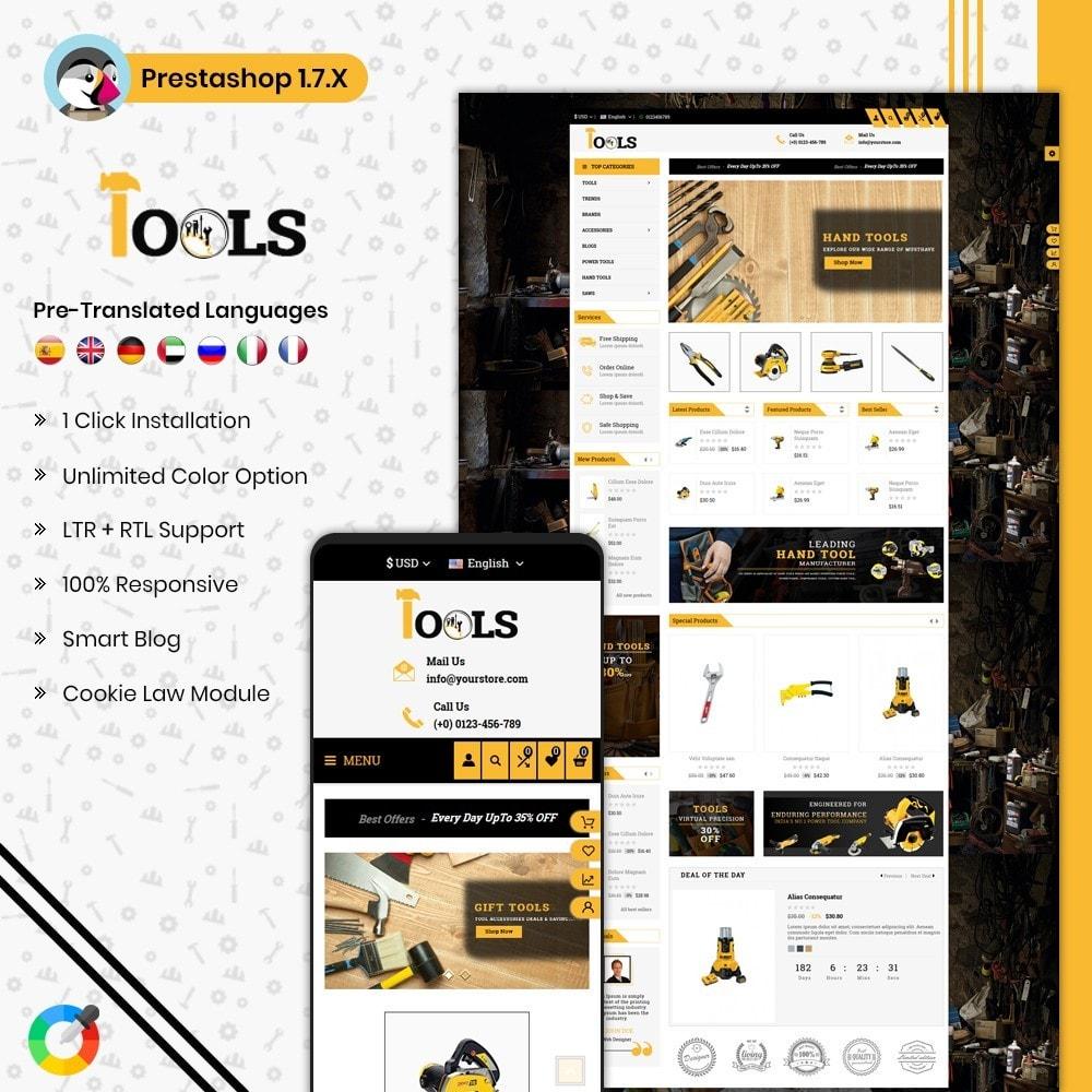 theme - Carros & Motos - Tools Shop - 1