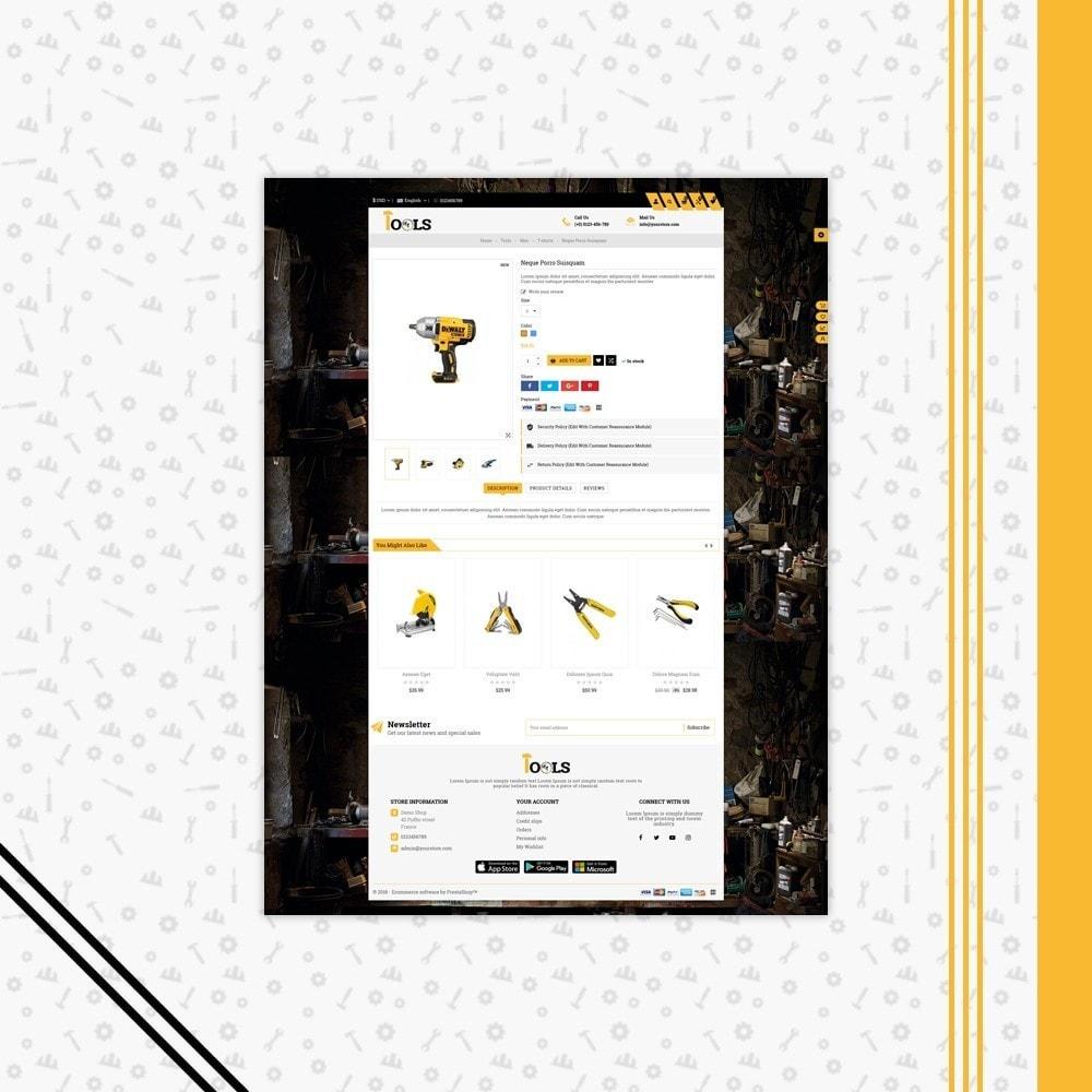 theme - Carros & Motos - Tools Shop - 5