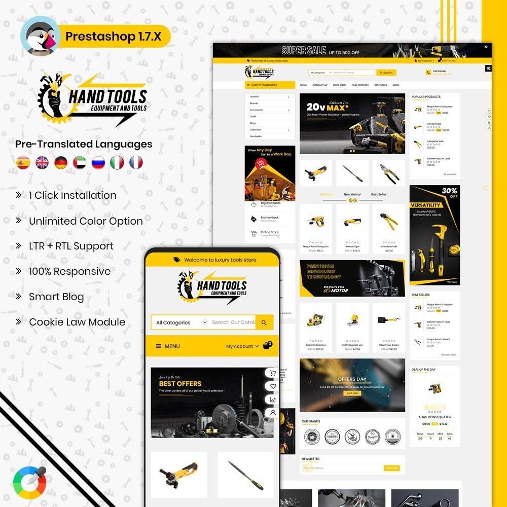 theme - Авто и Мото - Mega Tools Shop - 1