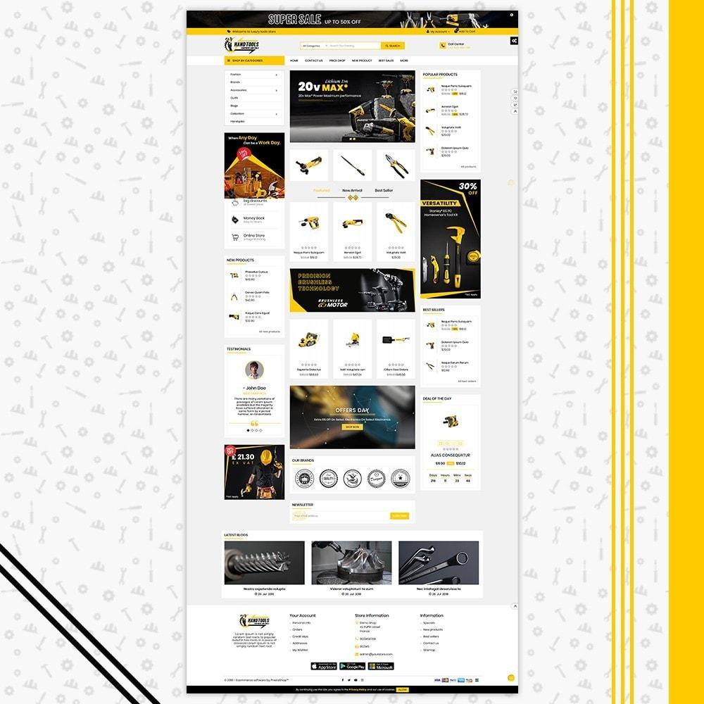 theme - Авто и Мото - Mega Tools Shop - 2