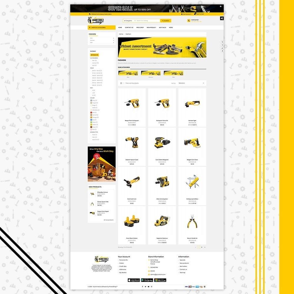 theme - Авто и Мото - Mega Tools Shop - 3