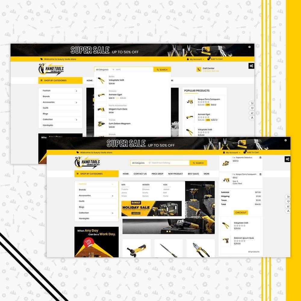 theme - Coches y Motos - Mega Tools Shop - 6