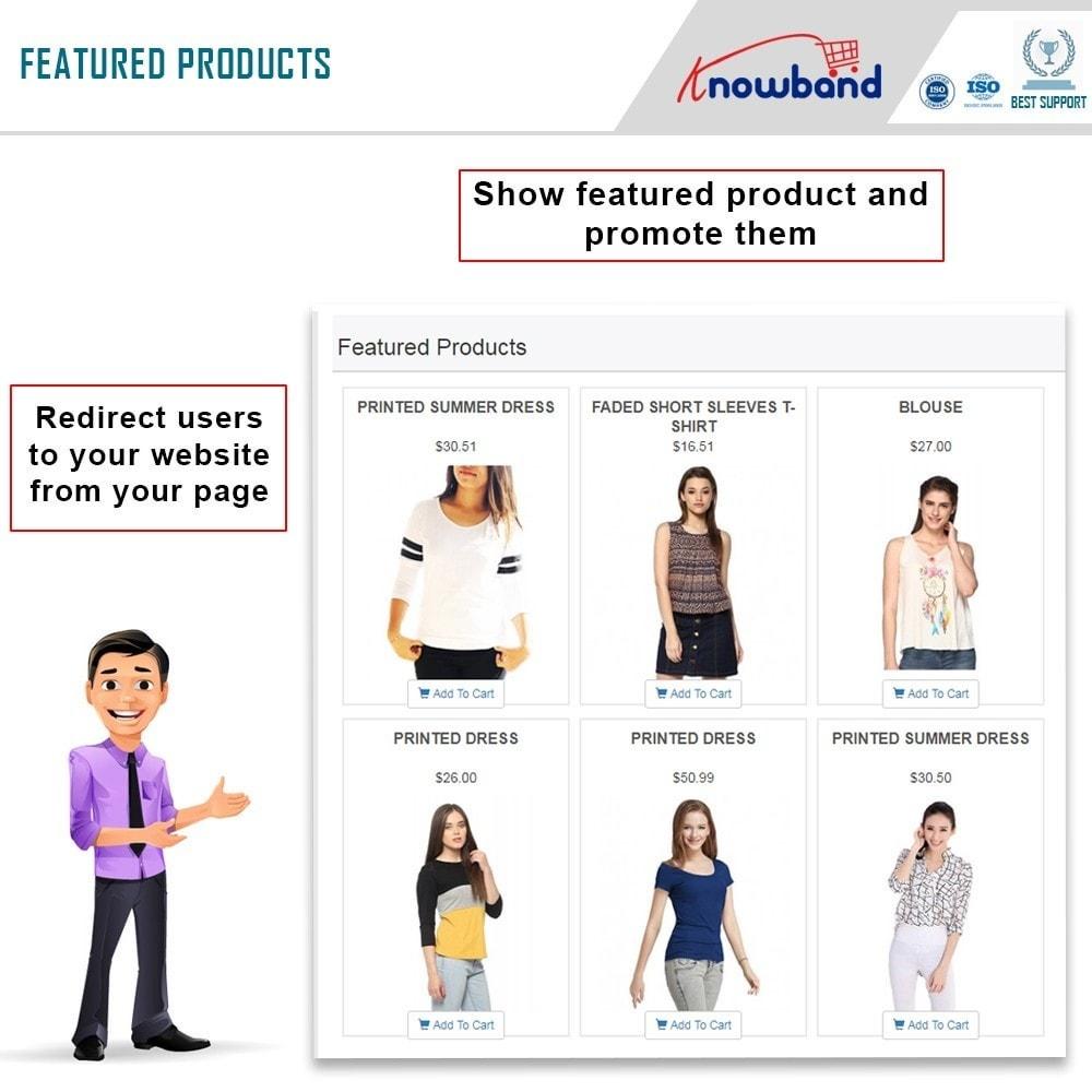module - Produkten op Facebook & sociale netwerken - Social Shop Integrator - 2