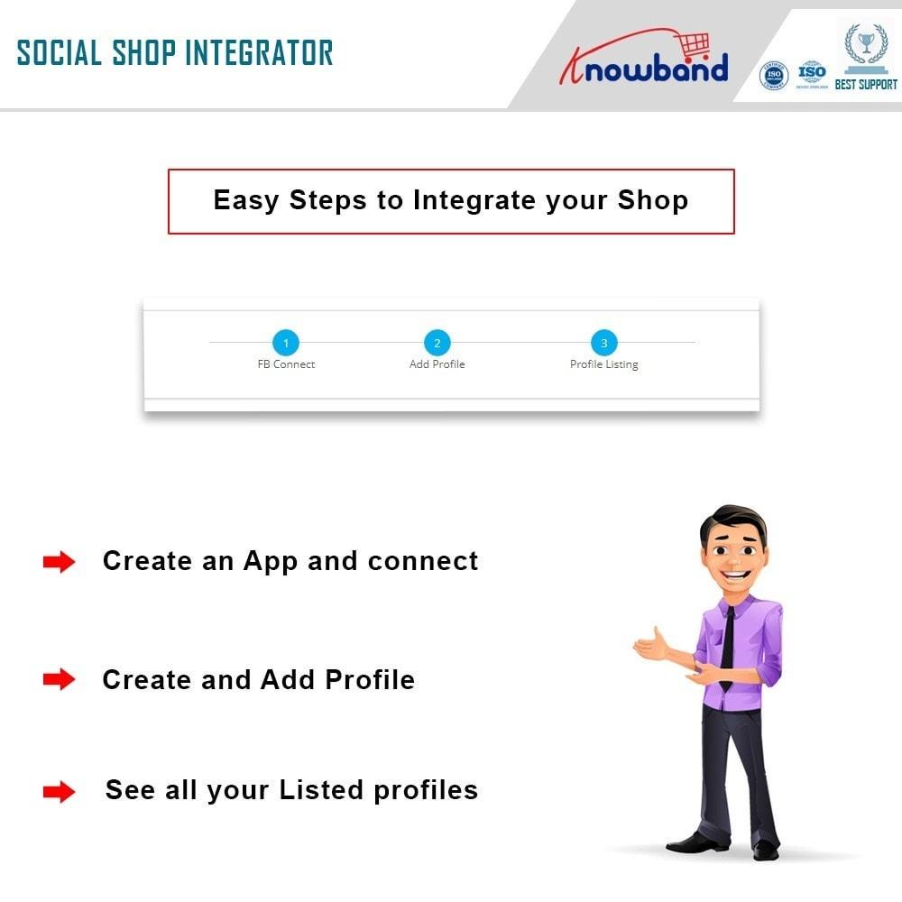 module - Produkten op Facebook & sociale netwerken - Social Shop Integrator - 4