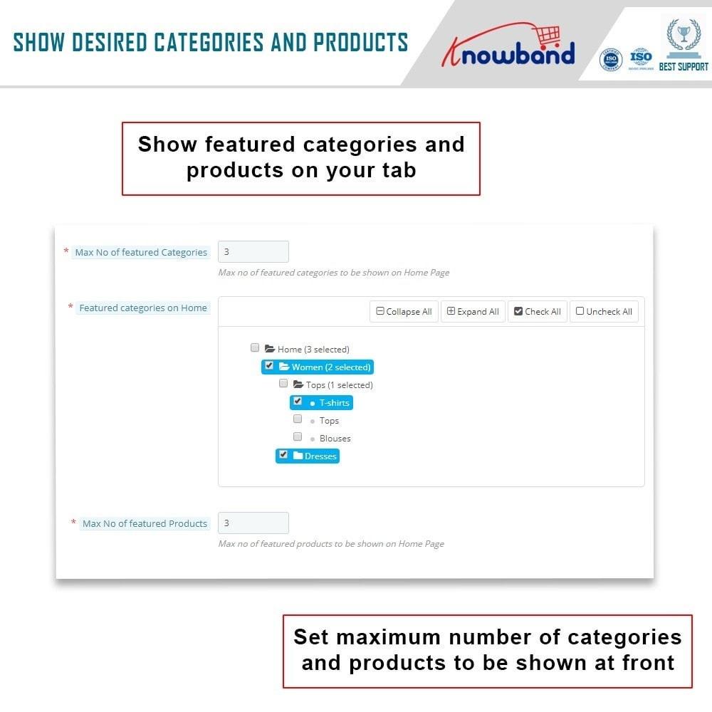 module - Produtos nas Facebook & Redes Sociais - Knowband - Social Shop Integrator - 7