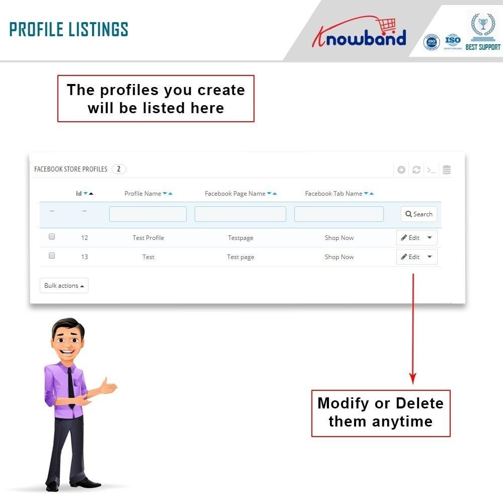module - Produtos nas Facebook & Redes Sociais - Knowband - Social Shop Integrator - 9