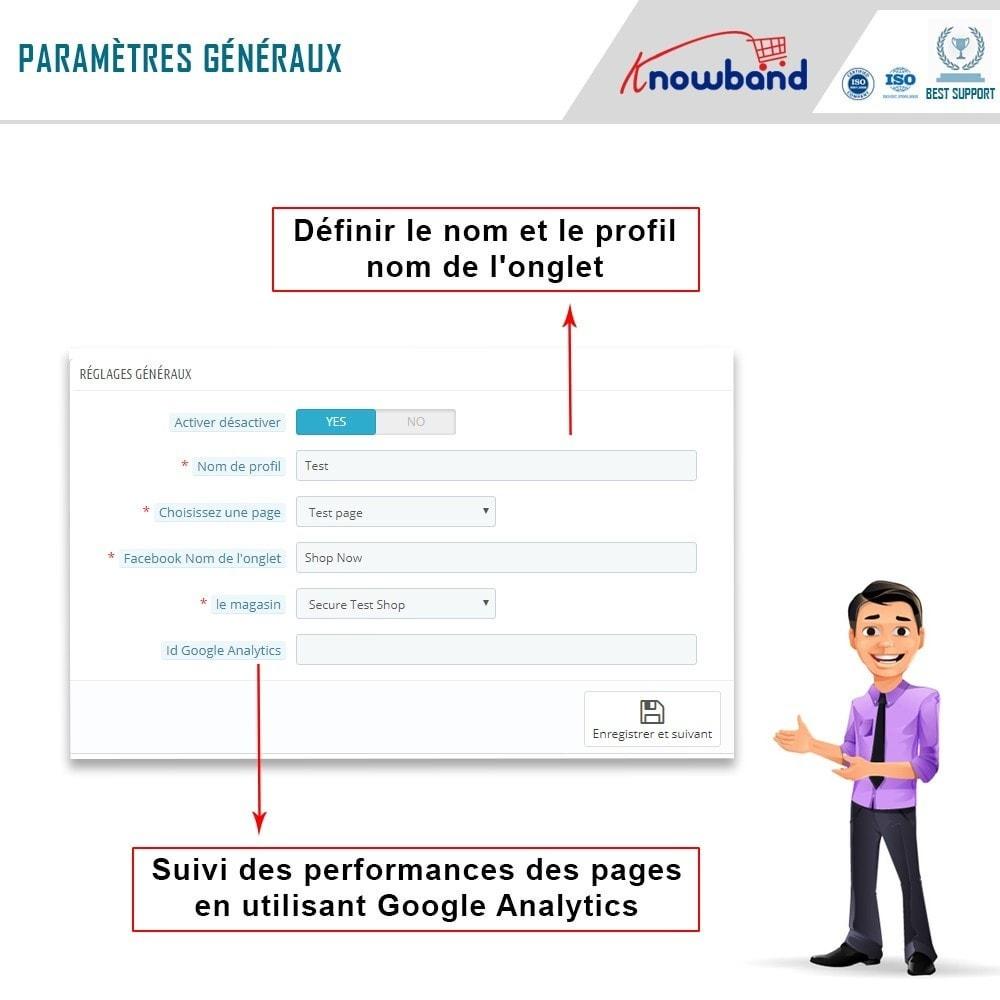 module - Produits sur Facebook & réseaux sociaux - Intégrateur de boutique sociale - 5