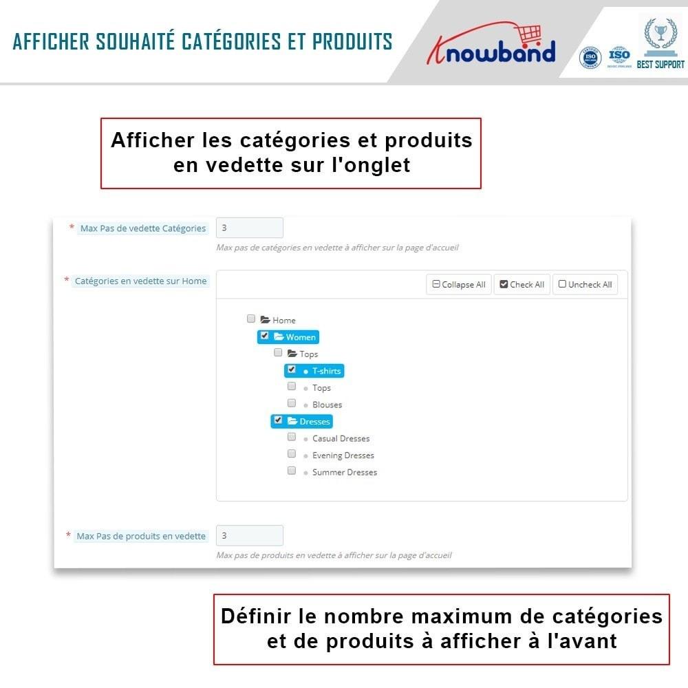 module - Produits sur Facebook & réseaux sociaux - Knowband - Intégrateur de boutique sociale - 7