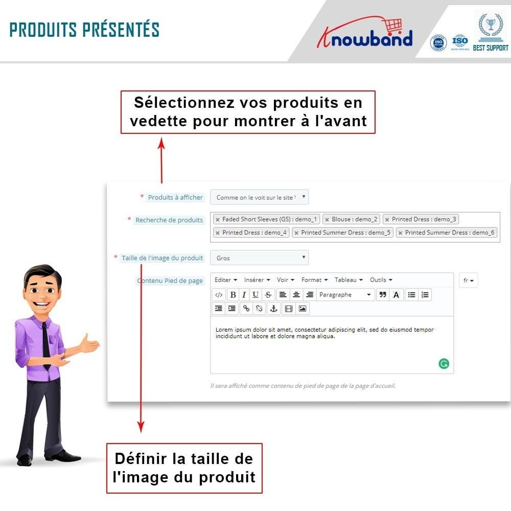 module - Produits sur Facebook & réseaux sociaux - Intégrateur de boutique sociale - 8