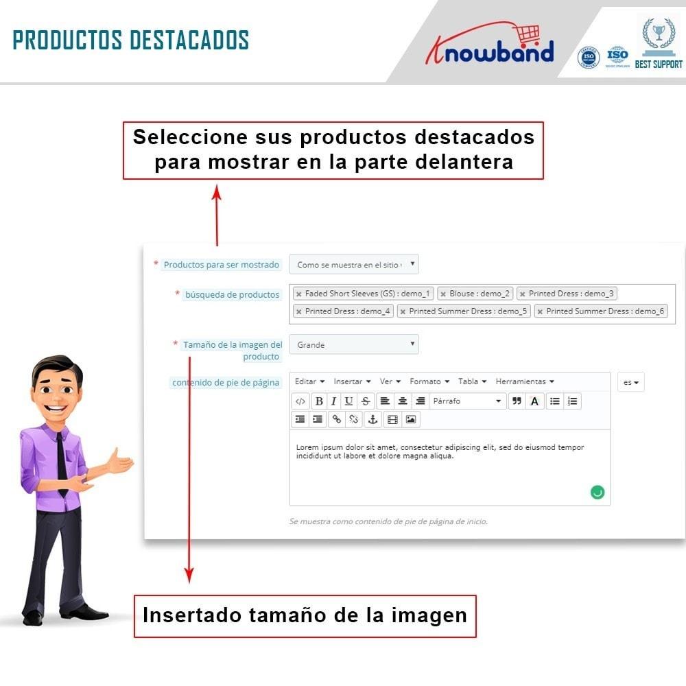 module - Productos en Facebook & redes sociales - Integrador de tienda social - 8