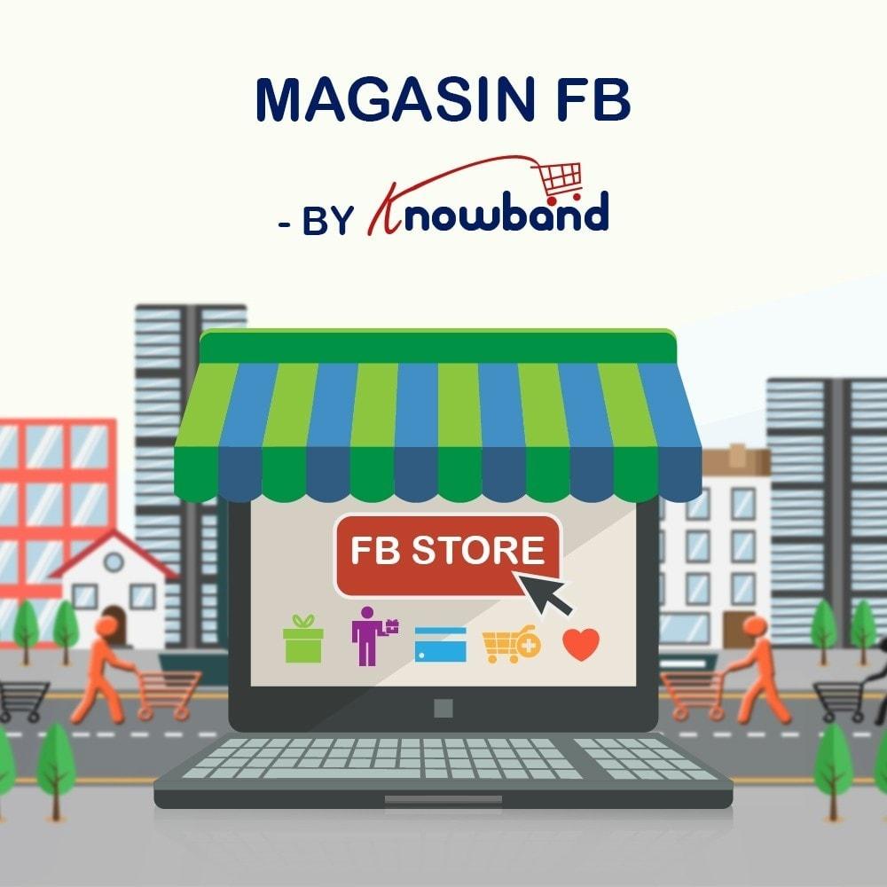 module - Produits sur Facebook & réseaux sociaux - Knowband - Intégrateur de boutique sociale - 10