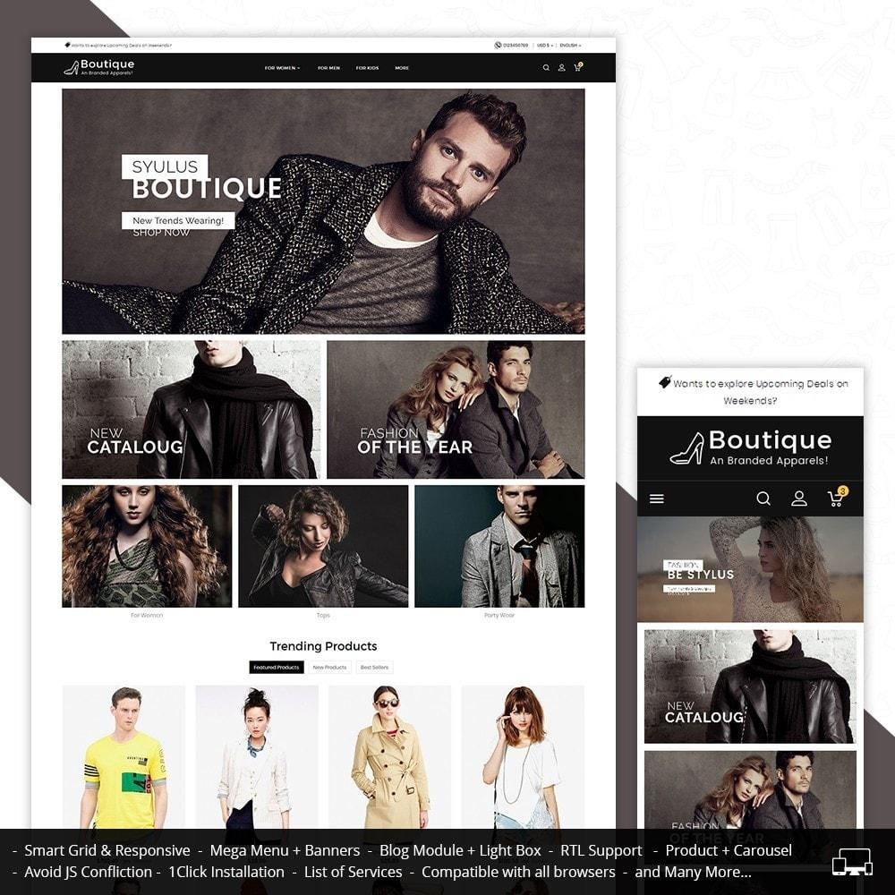 theme - Moda & Calçados - Boutique Fashion Light - 1