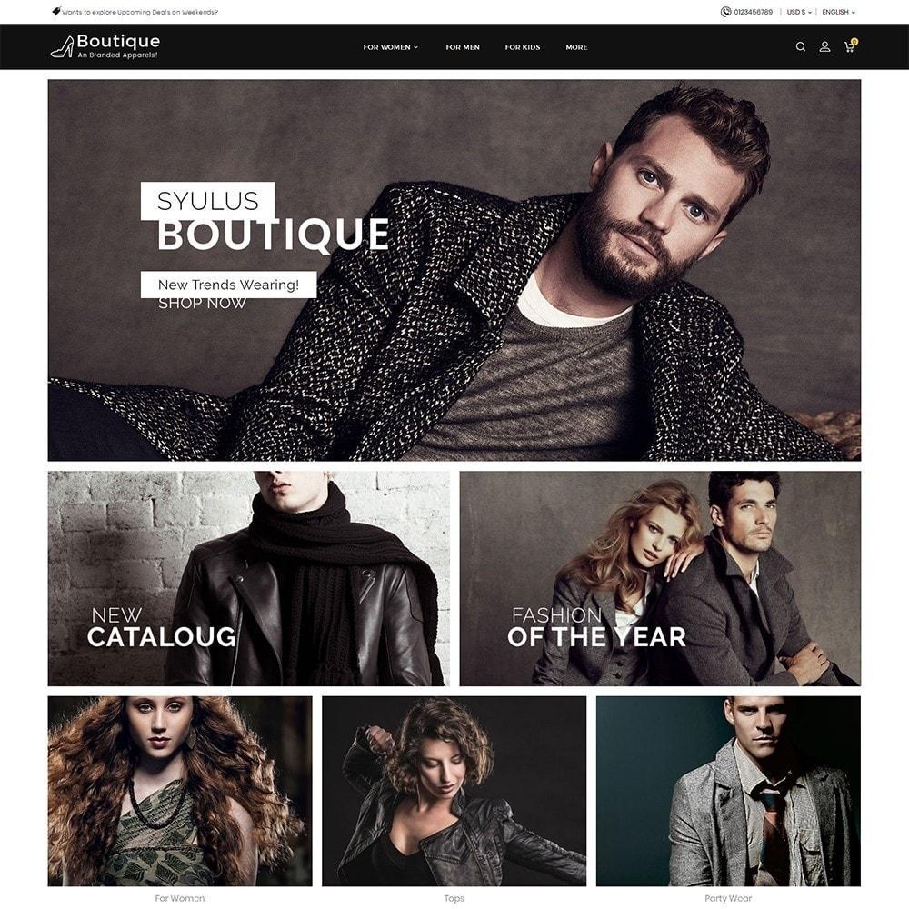 theme - Moda y Calzado - Boutique Fashion Light - 2