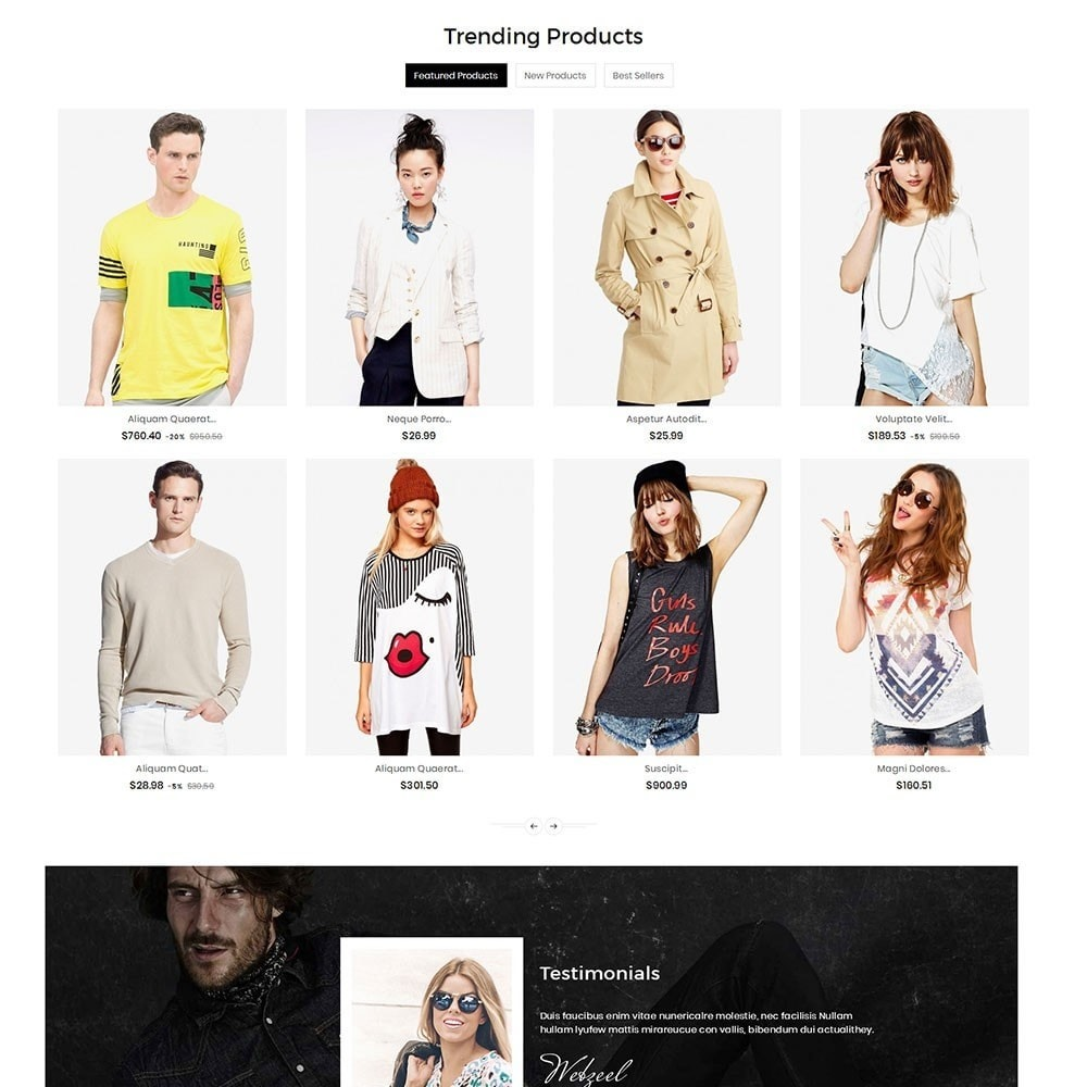 theme - Moda y Calzado - Boutique Fashion Light - 3