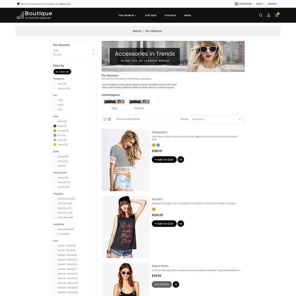 theme - Moda y Calzado - Boutique Fashion Light - 6