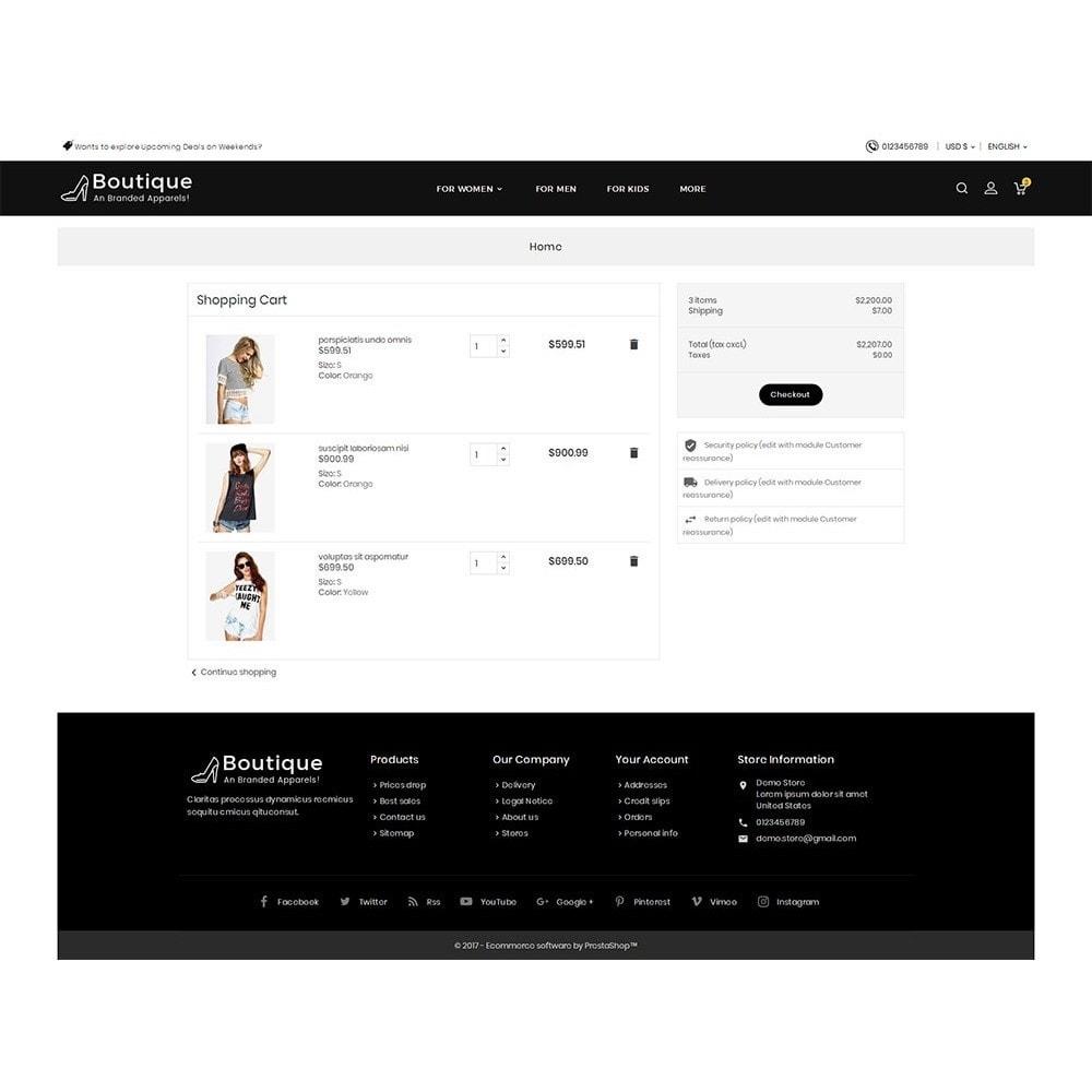 theme - Moda y Calzado - Boutique Fashion Light - 8