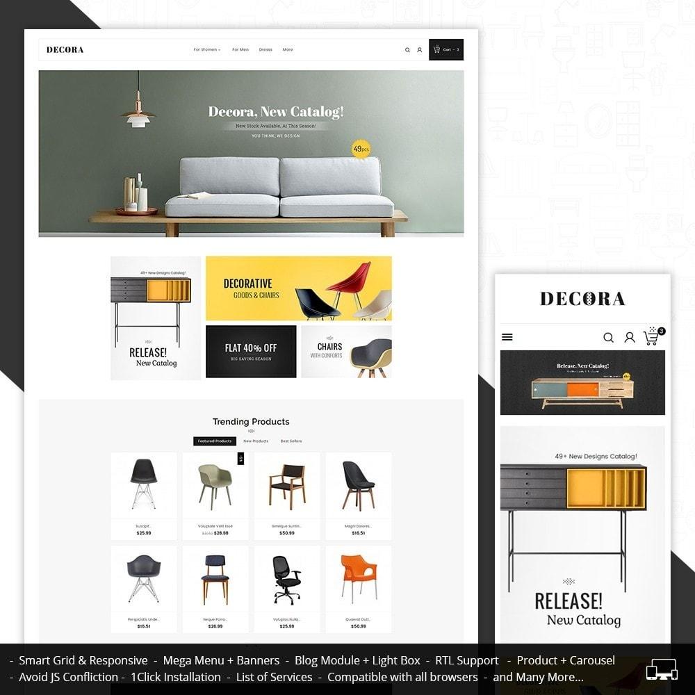 theme - Home & Garden - Decor Furniture Shop - 1