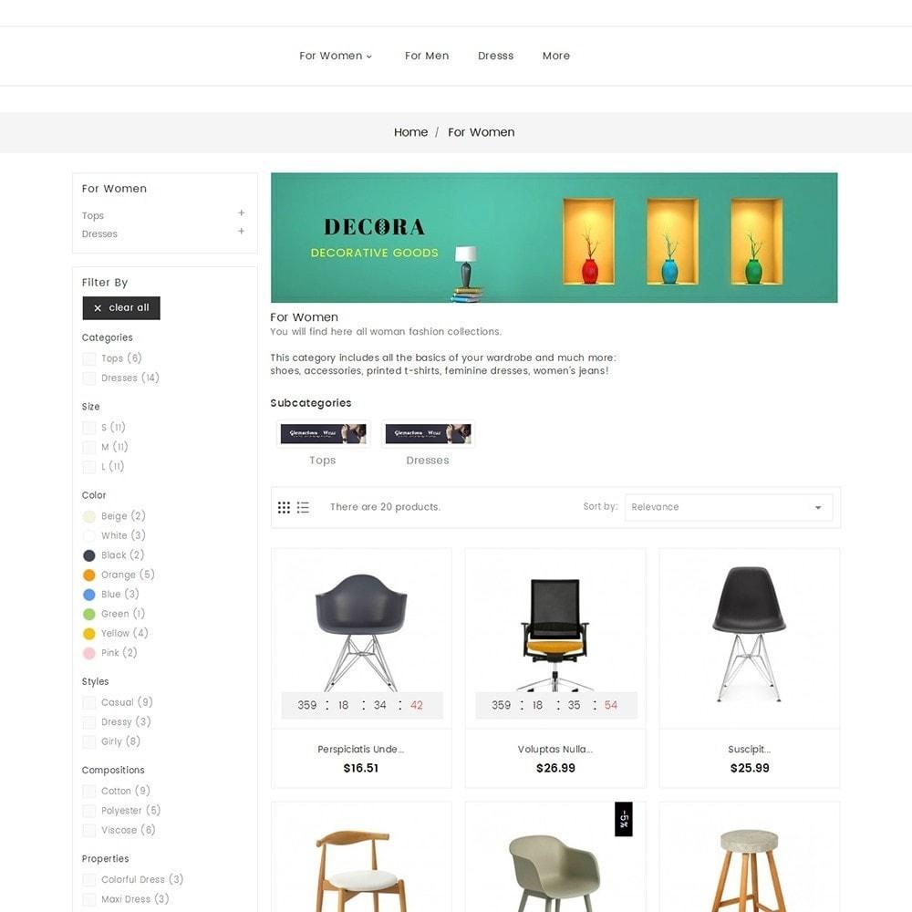 theme - Home & Garden - Decor Furniture Shop - 5