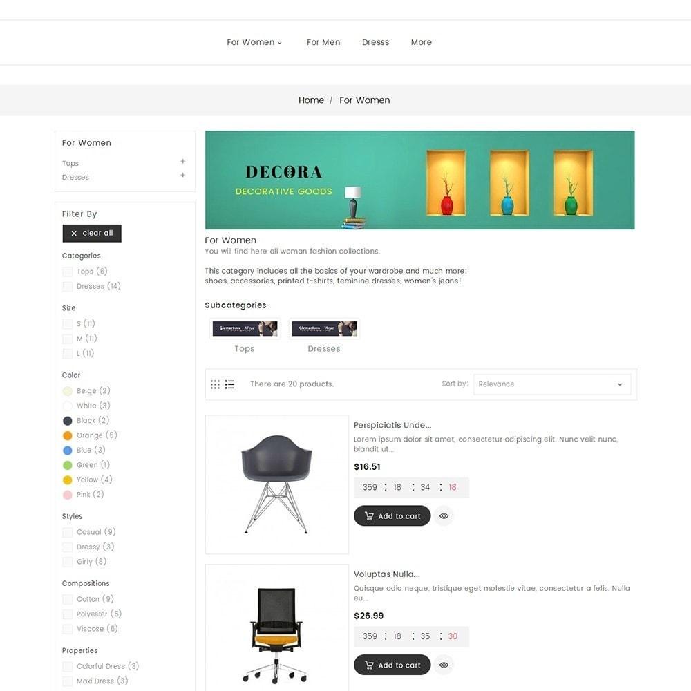 theme - Home & Garden - Decor Furniture Shop - 6