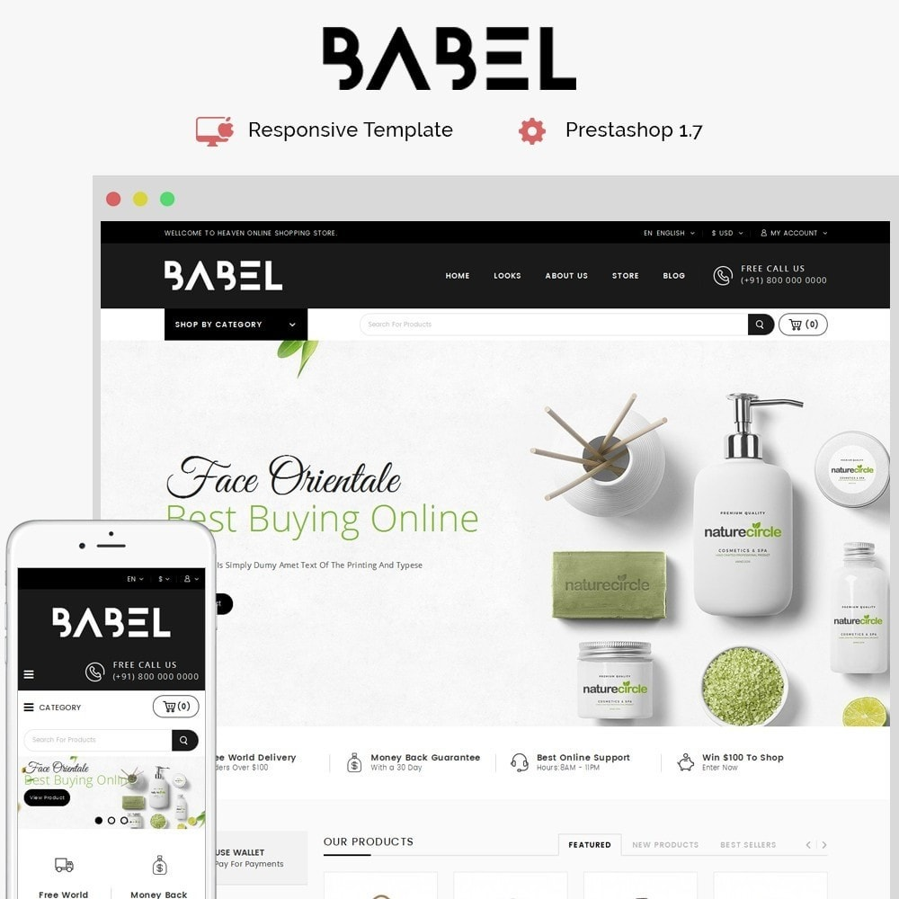 theme - Electronics & Computers - Babel Demo Store - 1