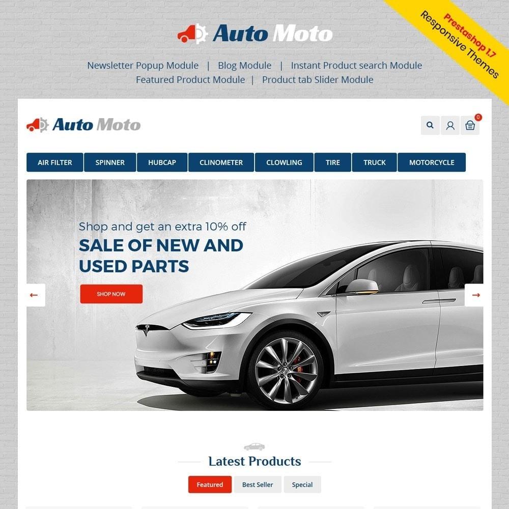 theme - Automotive & Cars - Automoto Auto Store - 1