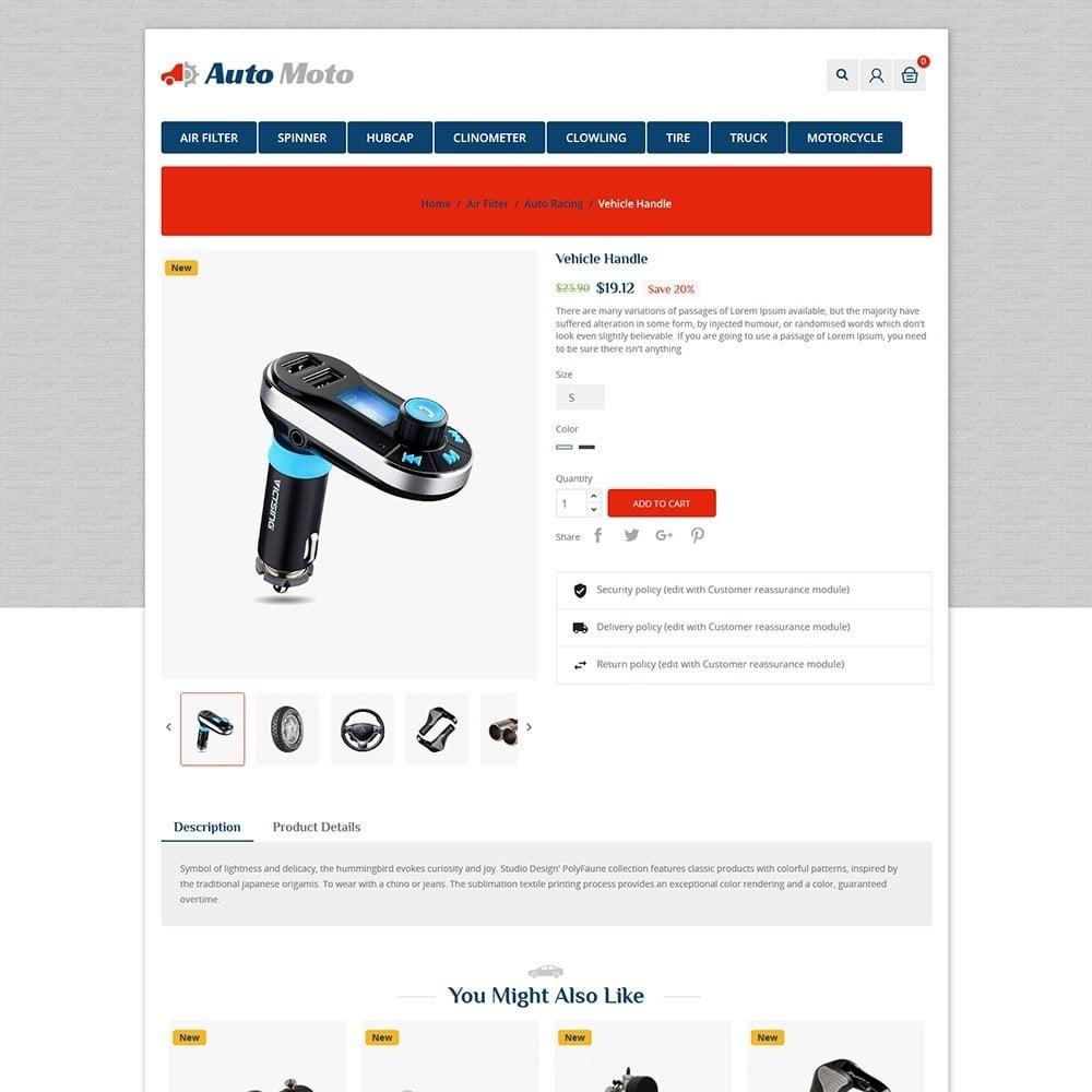 theme - Automotive & Cars - Automoto Auto Store - 5