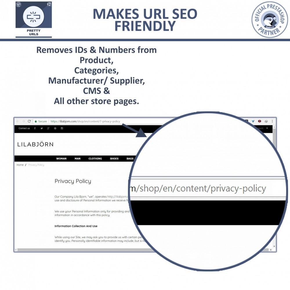 module - URL & Redirect - Pretty URL - Rimuovere ID e Numeri dalle URL - 4