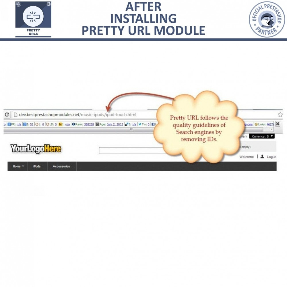bundle - URL & Redirects - Pretty URLs + URL Redirects Manager -  Pack of 2 - 10