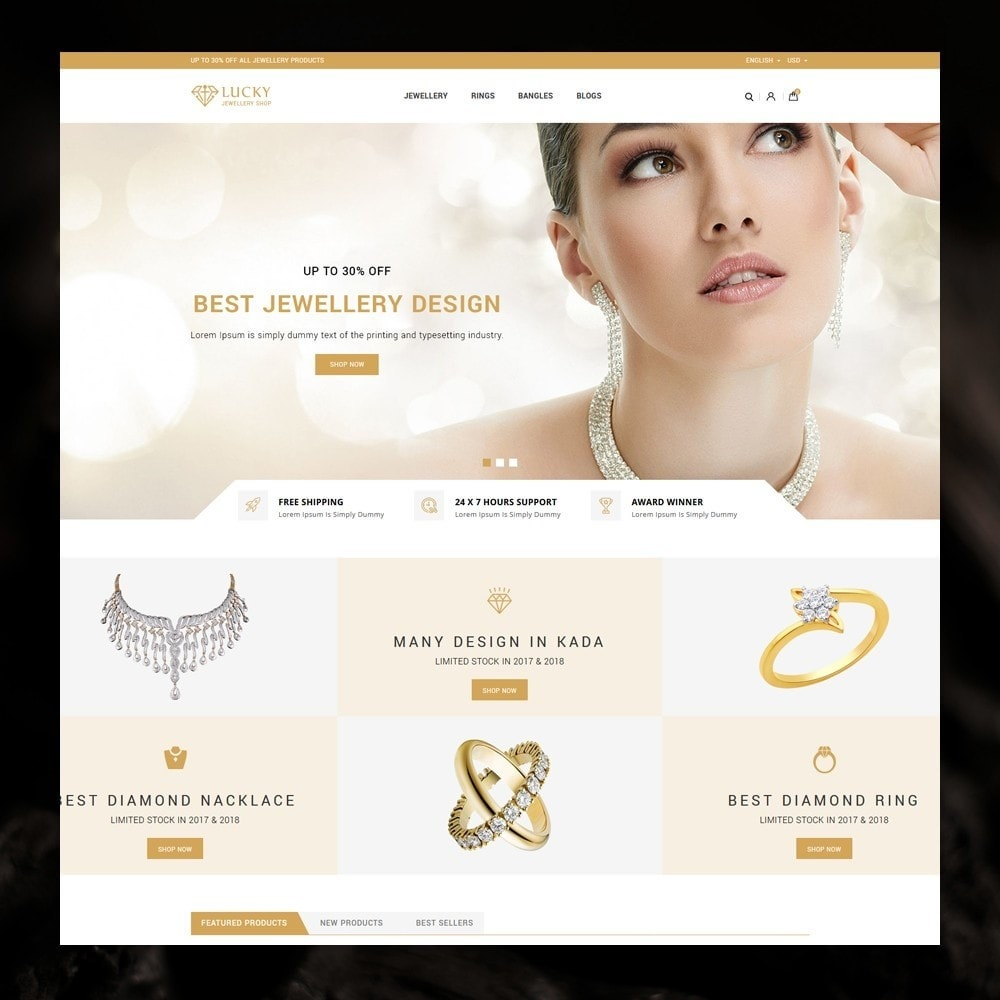 theme - Jewelry & Accessories - Lucky - The Jewelry shop - 2