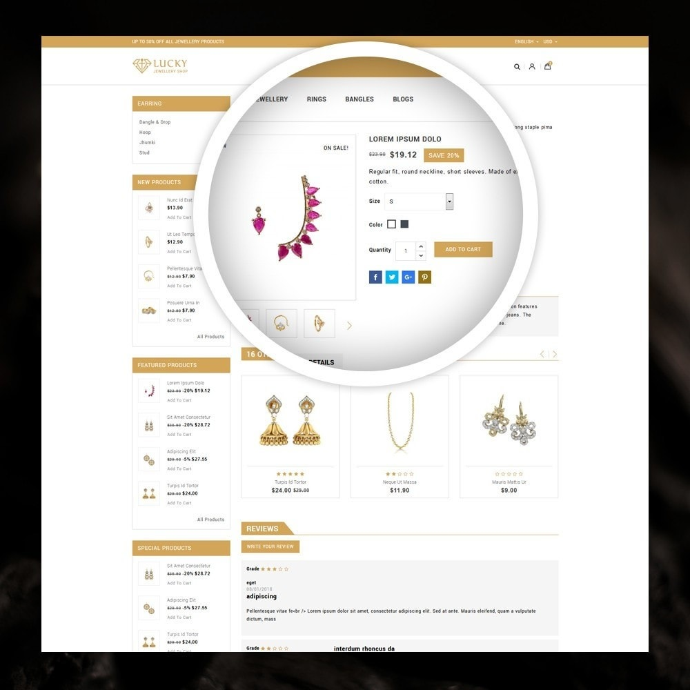 theme - Jewelry & Accessories - Lucky - The Jewelry shop - 4