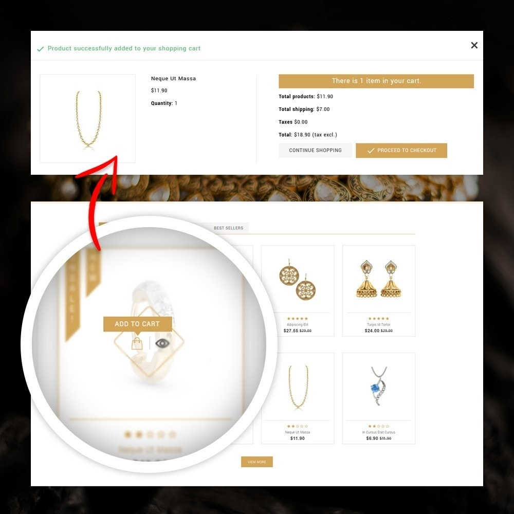 theme - Jewelry & Accessories - Lucky - The Jewelry shop - 5