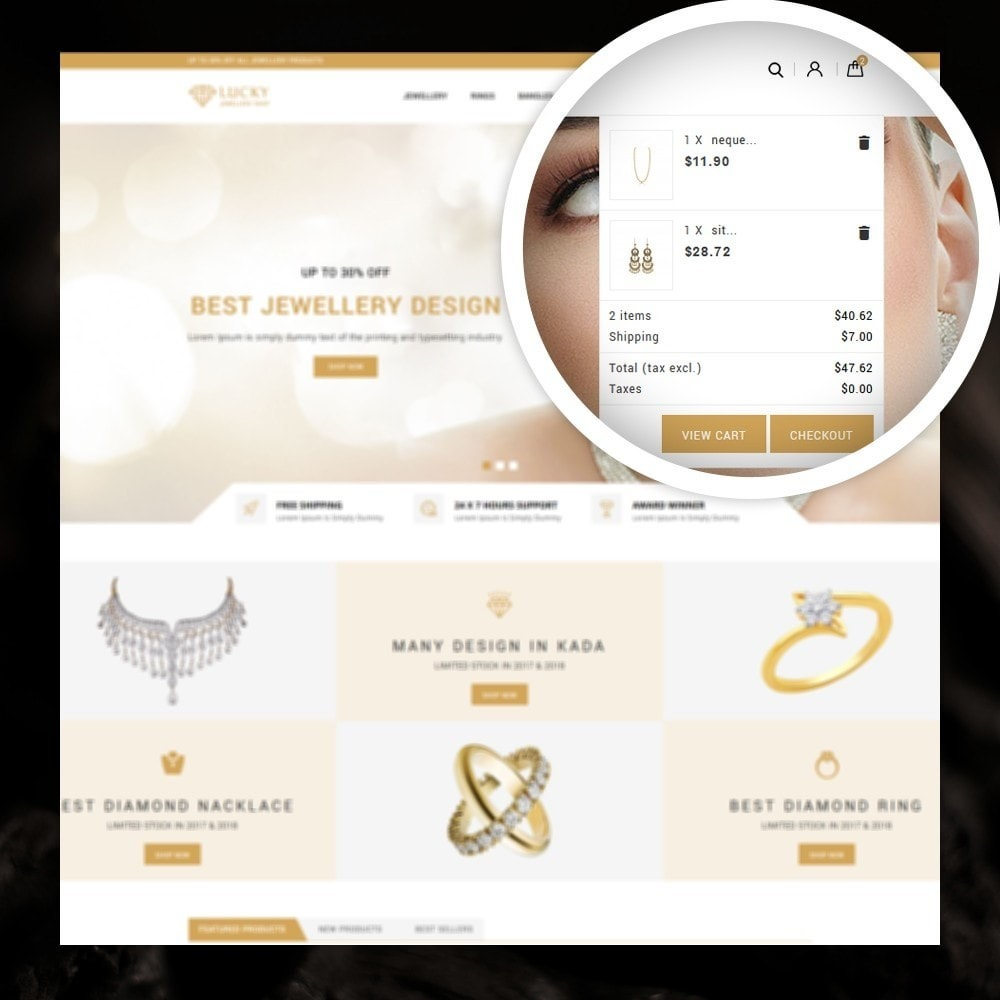 theme - Jewelry & Accessories - Lucky - The Jewelry shop - 6