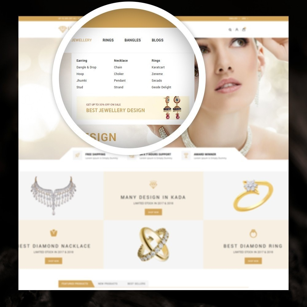 theme - Jewelry & Accessories - Lucky - The Jewelry shop - 7