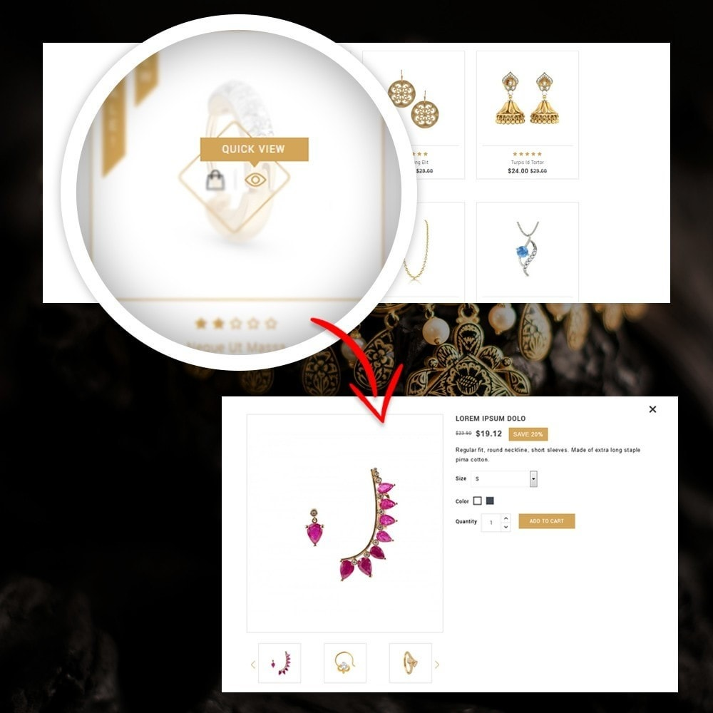 theme - Jewelry & Accessories - Lucky - The Jewelry shop - 8