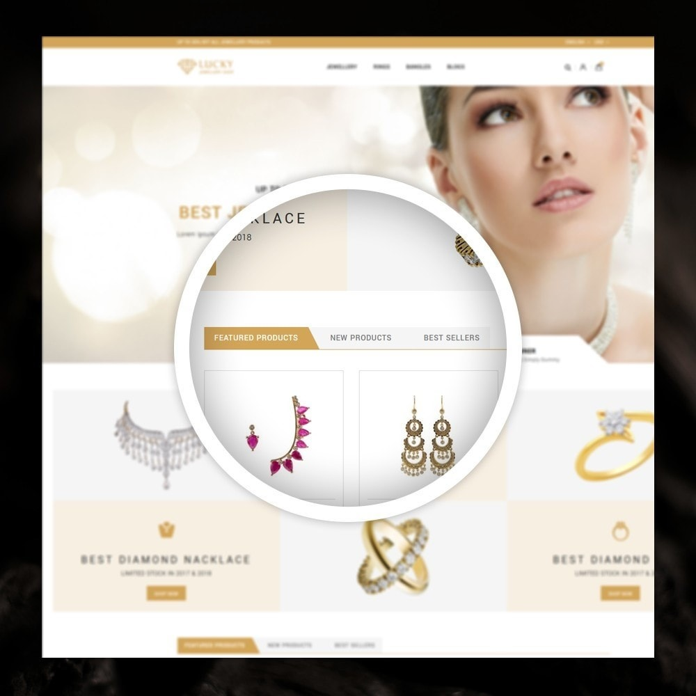 theme - Jewelry & Accessories - Lucky - The Jewelry shop - 9