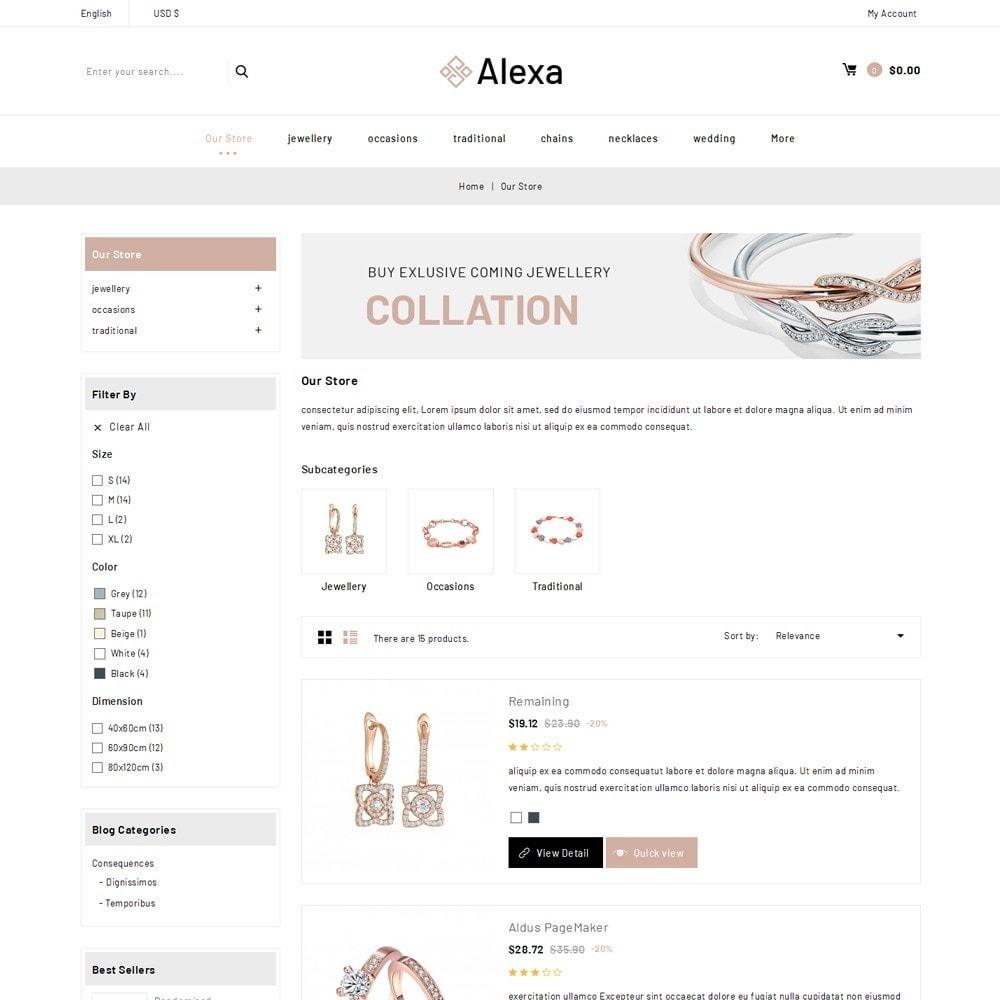 theme - Jewelry & Accessories - Alexa - The Jewelry Shop - 5