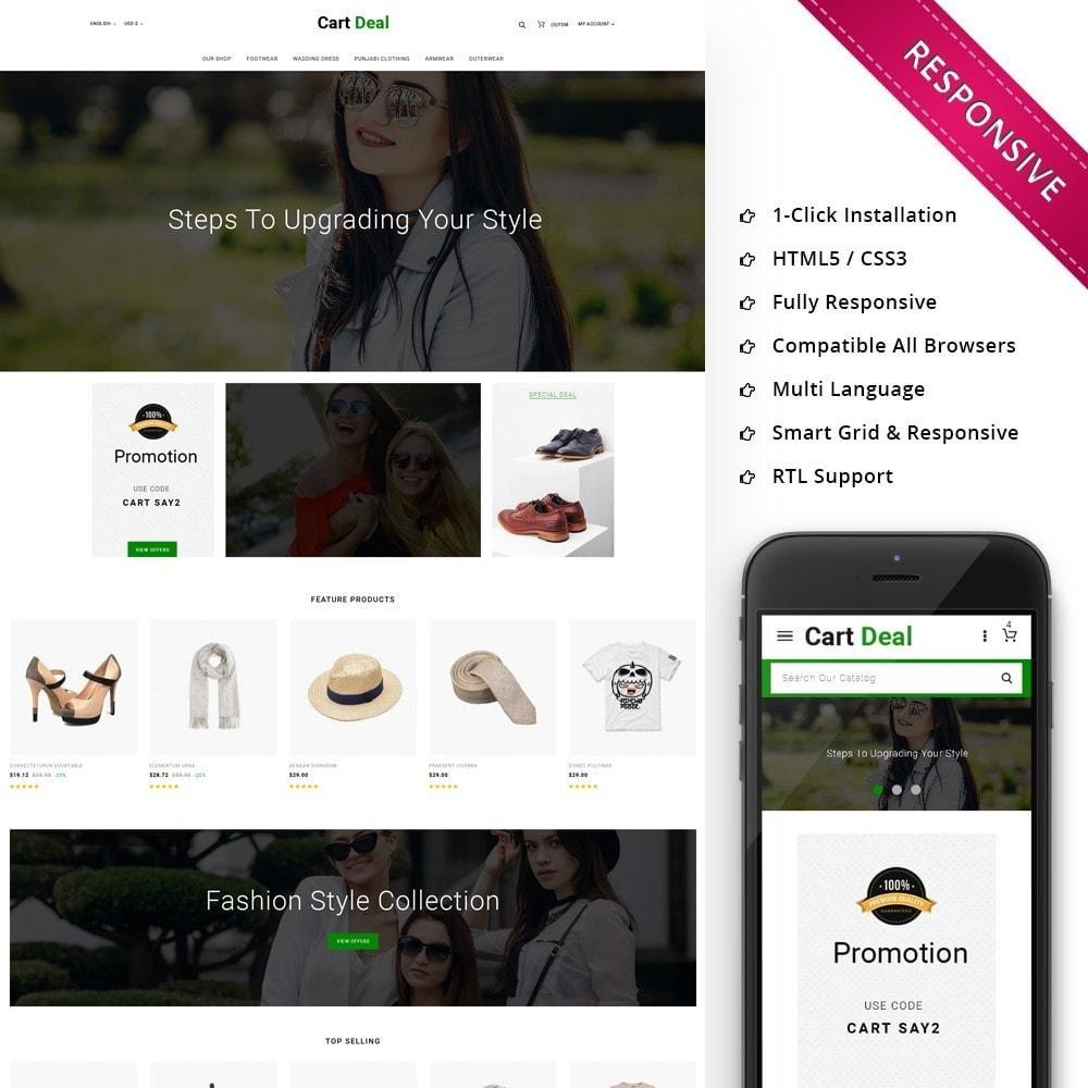 theme - Fashion & Shoes - Cart Deal - The Fashion Store - 1