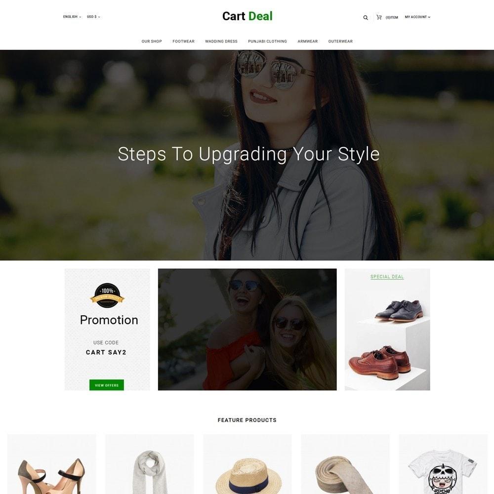 theme - Fashion & Shoes - Cart Deal - The Fashion Store - 2