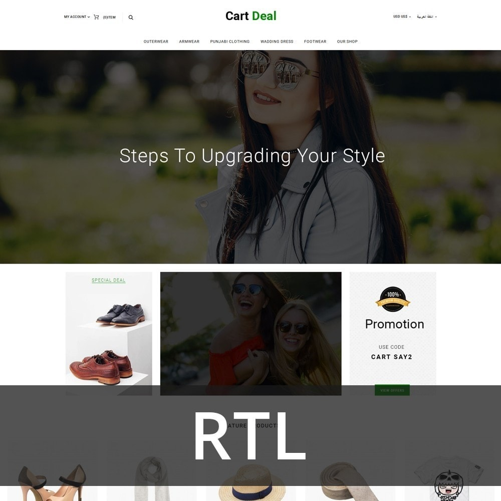 theme - Fashion & Shoes - Cart Deal - The Fashion Store - 3
