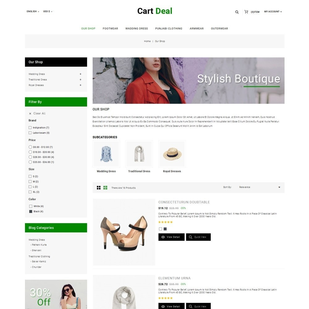 theme - Fashion & Shoes - Cart Deal - The Fashion Store - 5