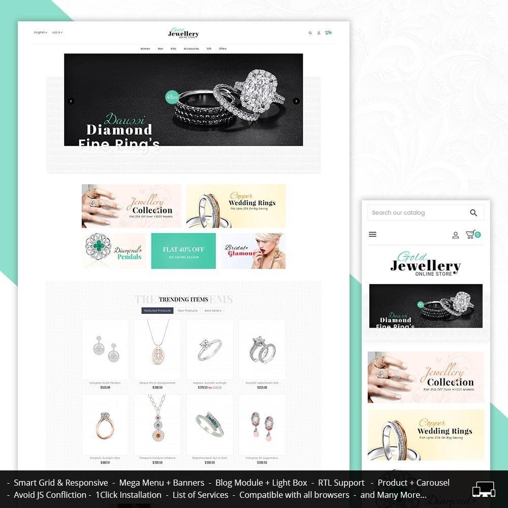 theme - Schmuck & Accesoires - Modern Jewelry Store - 1